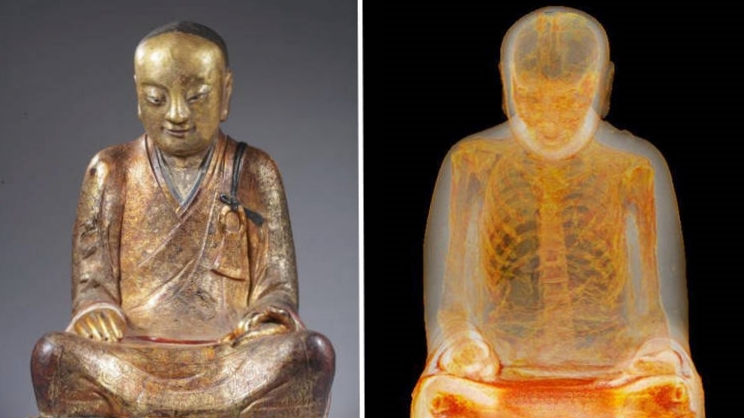 Liuquan mummy / Photo Credit: M. Elsevier Stokmans