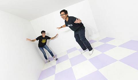 Relativity Room //Photo Credit: ArtScience Museum