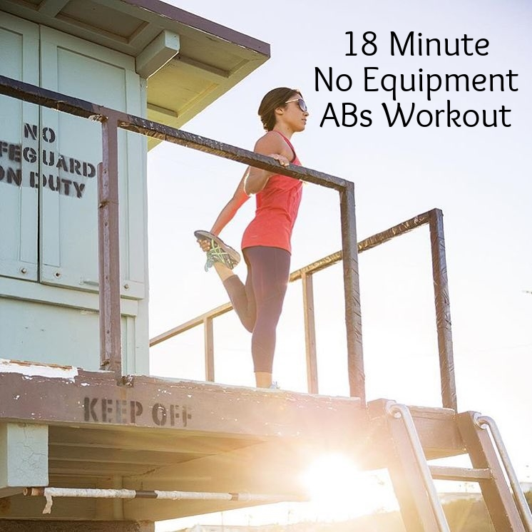 18 Minute No Equipment ABs workout by Trainer AJ Govoni