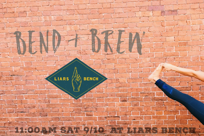Aj Govoni Bend Brew At Liars Bench Beer Co