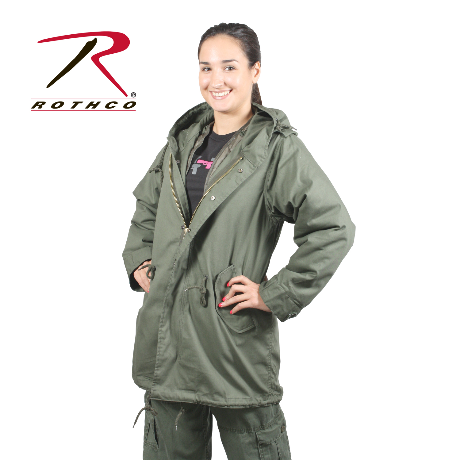 Rothco Women's M-51 Fishtail Parka — BUG OUT MONTANA