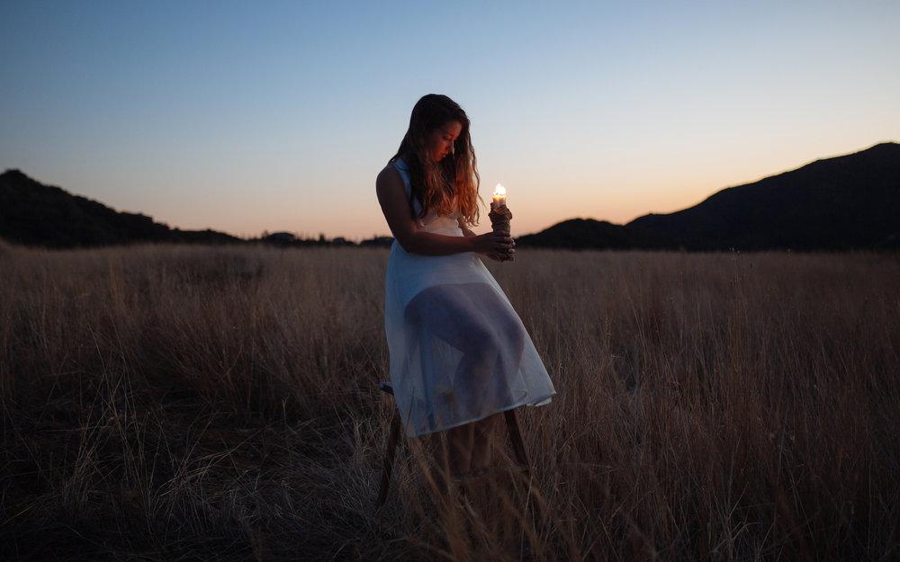 "Shoot Every Day, Photo #6: ""Flame."" Model is Kiara."