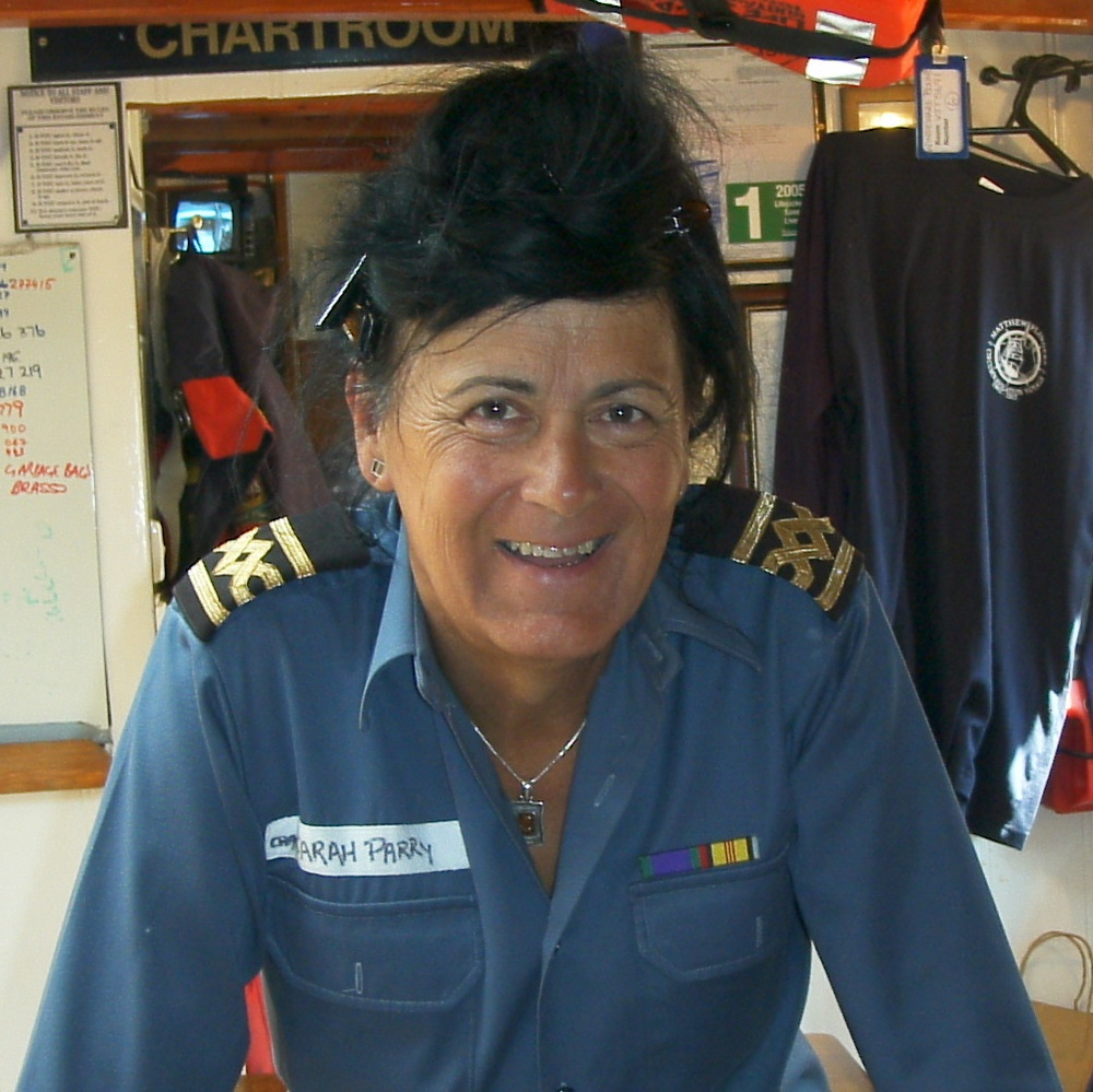 Captain Sarah Parry