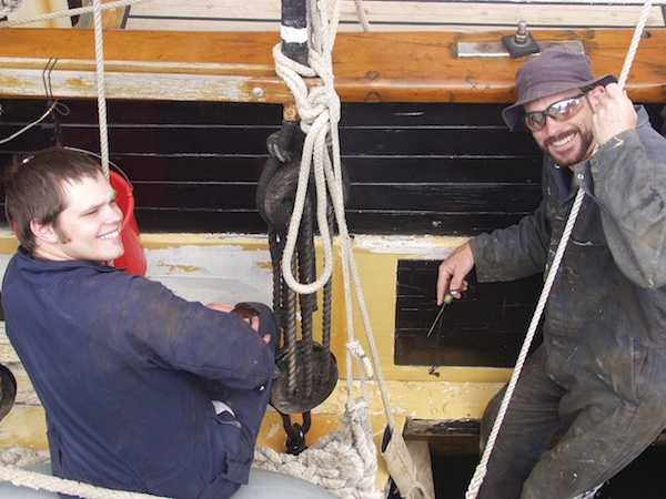 Wooden Boat Maintenance Days
