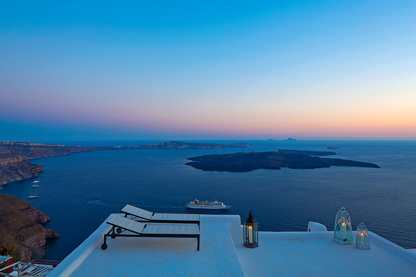 Photo: Courtesy of AirBnb How about a Cave villa in Santorini?