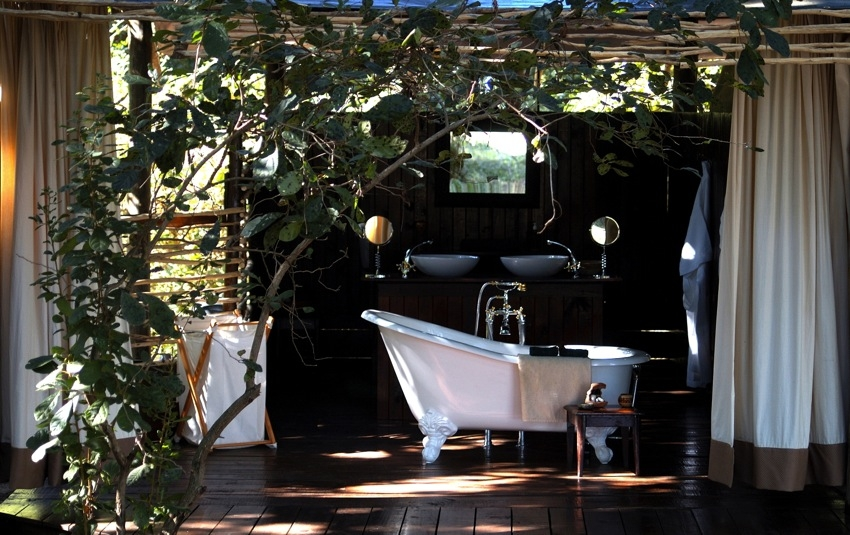 Photo: Courtesy of Chiawa Camp There's nothing wrong with a little bit of glamping (glamour camping) – when in Zambia!