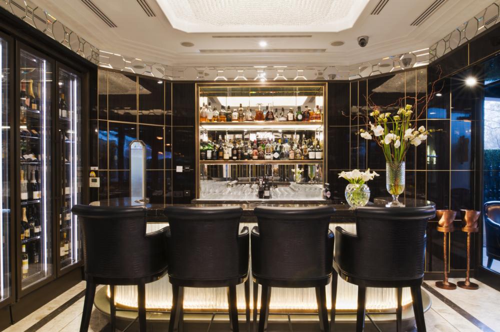 The Wellesley - Crystal bar