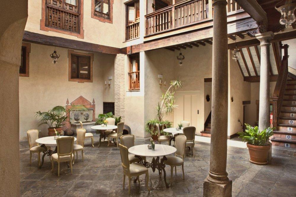 Hotel Casa 1800 patio