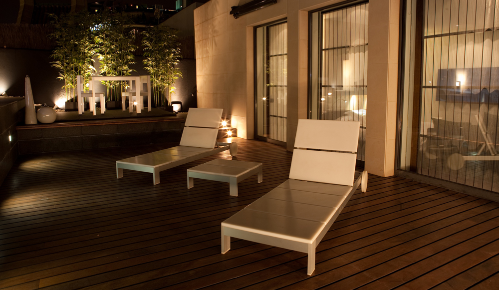 SixtyTwo Hotel  Outdoor Terrace