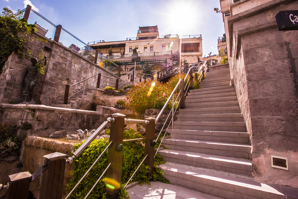 Cappadocia Cave Resort & Spa, Stairs