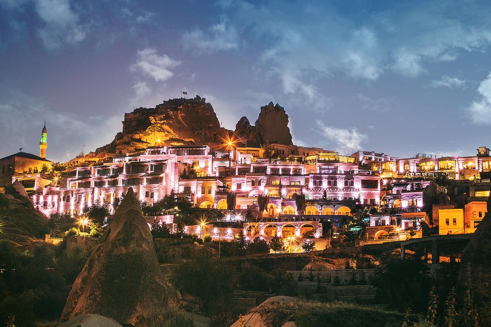 Cappadocia Cave Resort & Spa, Lights