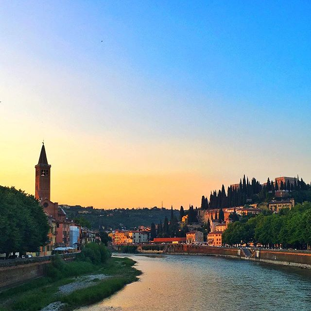 Maybe if Juliet focused more on these beautiful sunsets and less on that Romeo boy ... . . . #Italy #Verona #RomeoJuliet #beautiful #luxurytravel #lovelife #vacation #adventures #happy #photooftheday #instagood #instatravel #bestoftheday #travel #koyds #travelbug #blessed #travelpics #tourist #thegoodlife #fun #wanderlust #paradise #IamATraveler #amazingplaces