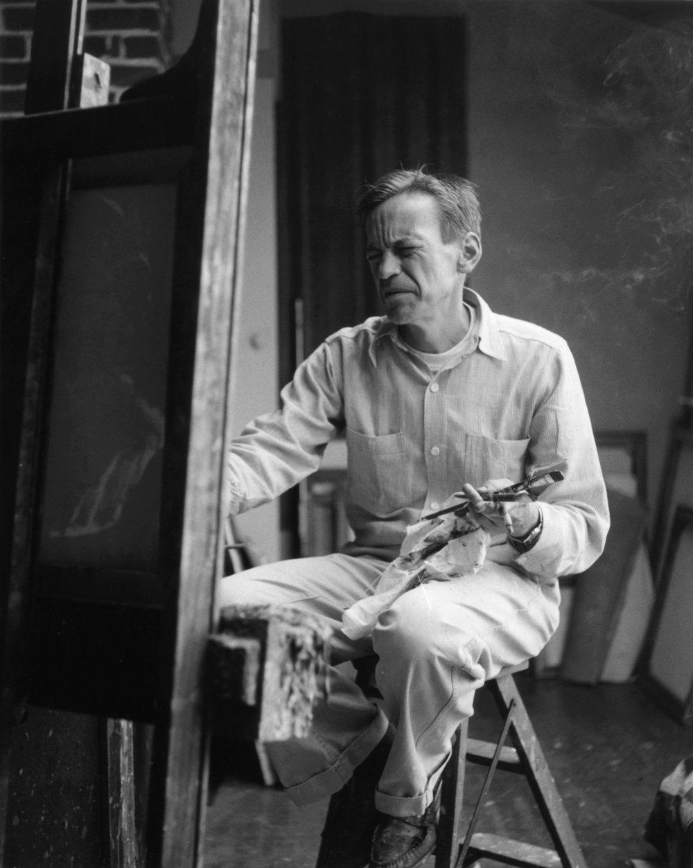 David Park, Painter 3, 1958