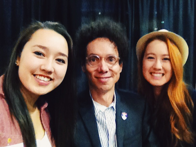 Selfie with Malcolm Gladwell!