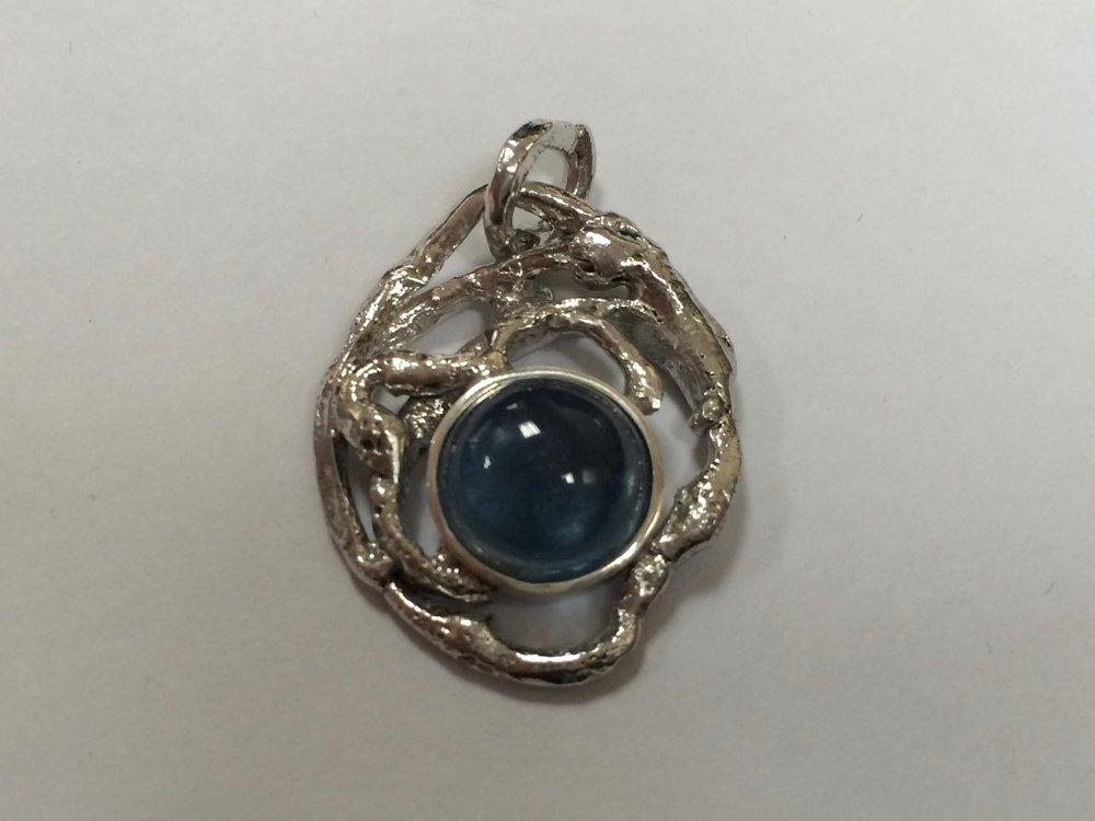 Aquamarine Silver 925