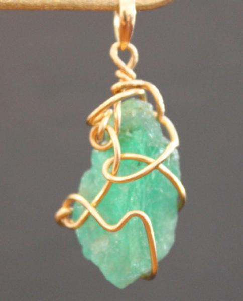 Emerald. K18 Yellow Gold