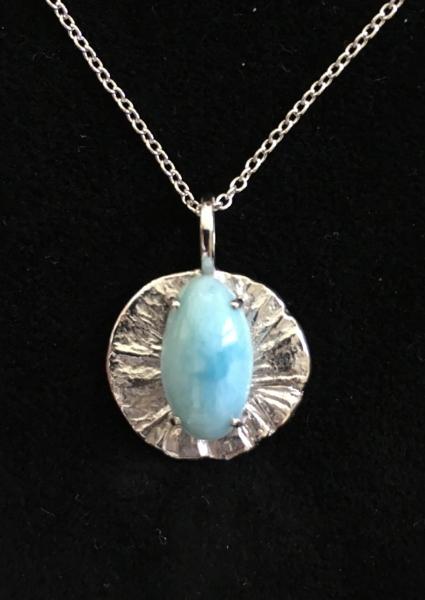 Larimar. Silver 925 - Sold