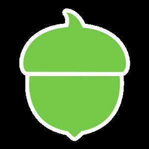 Invest spare change at acorns.com
