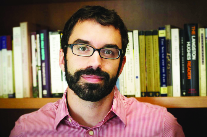 Assistant Professor of English Thomas Koenigs joined the Scripps College faculty this fall. Photo courtesy of Scripps College