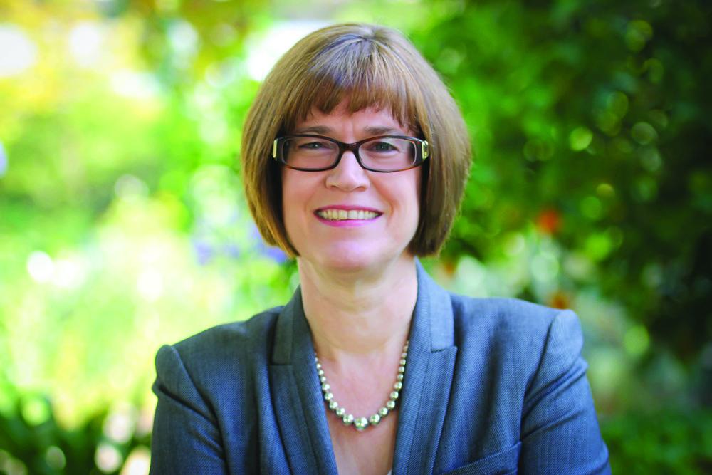 President Lori Bettison-Varga. Photo courtsey of Scripps College.