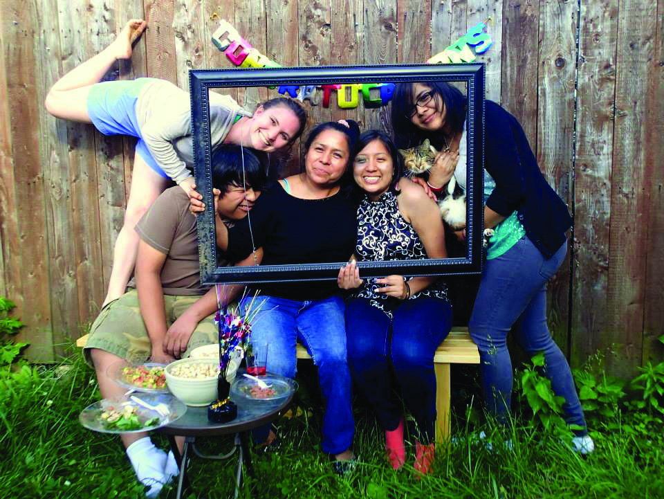 Photo courtesy of Prisma Herrera '18 (second from right)