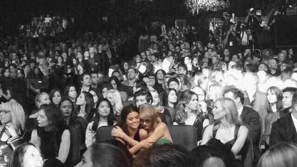 "Taylor's lyrics, ""The rest of the world was black and white, but we were in screaming color"" highlight the perfection that is her (best) friendship with Selena Gomez."