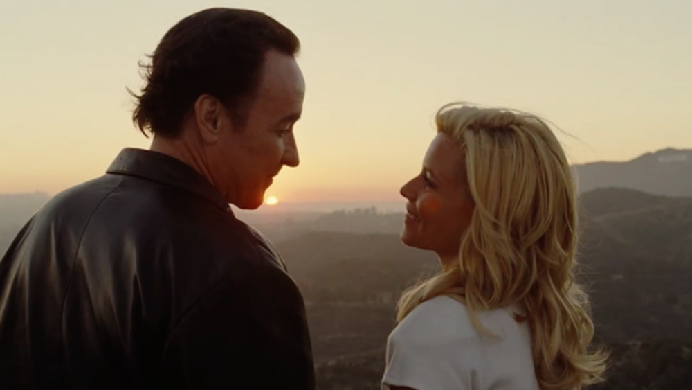 Older Brian Wilson and his second wife, Melinda Ledbetter. Portrayed by John Cusack and Elizabeth Banks. Photo courtesy of Dailymotion.