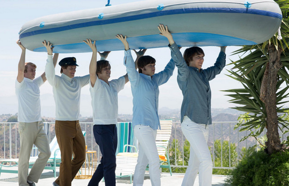 The Beach Boys as portrayed in the film. Photo courtesy of Forbes.