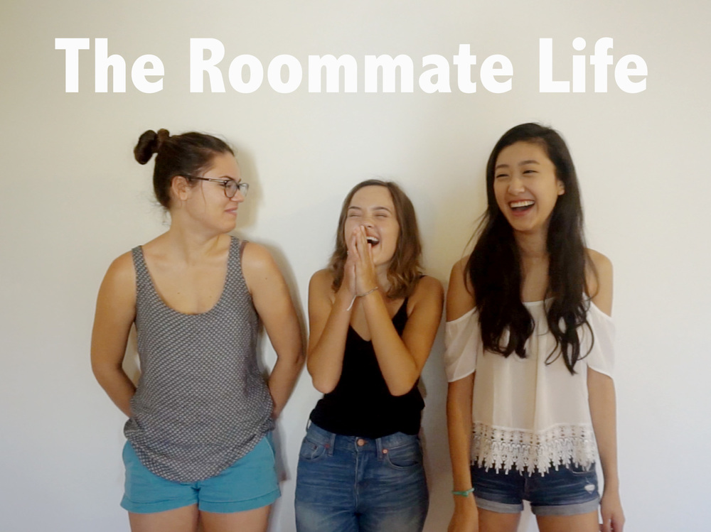 From one of the first vlogs, Roommates