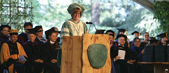 President Lori Bettison-Varga will leave Scripps College in October to join the Natural History Museum of Los Angeles. Meanwhile, the Search Committee looks to recommend a candidate to the Board of Trustees by Spring of this academic year.