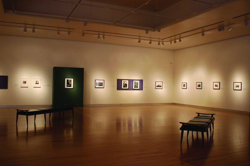 """Ruth Chandler Williamson Gallery's exhibition, """"Documenters and Storytellers: Photographic Narratives in the 20th Century"""" Photo by Layne Wells '19"""
