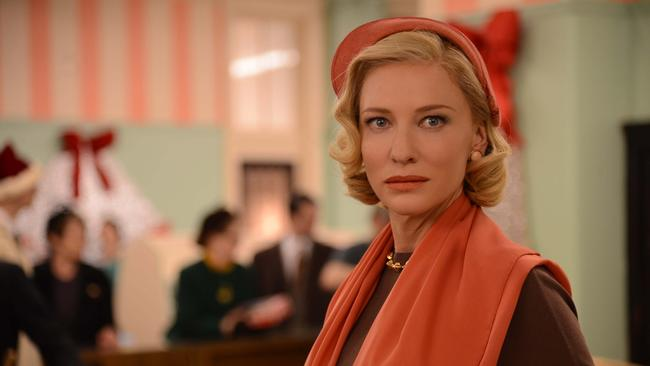 Cate Blanchett plays Carol Aird, who struggles with a divorce and custody battle with her husband. Photo courtesy of the LA Times.