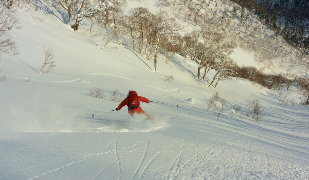 Excellent early season turns. © The Powder Project Pty Ltd