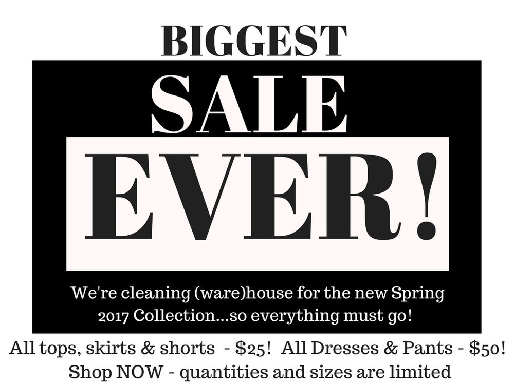 Biggest sale ever