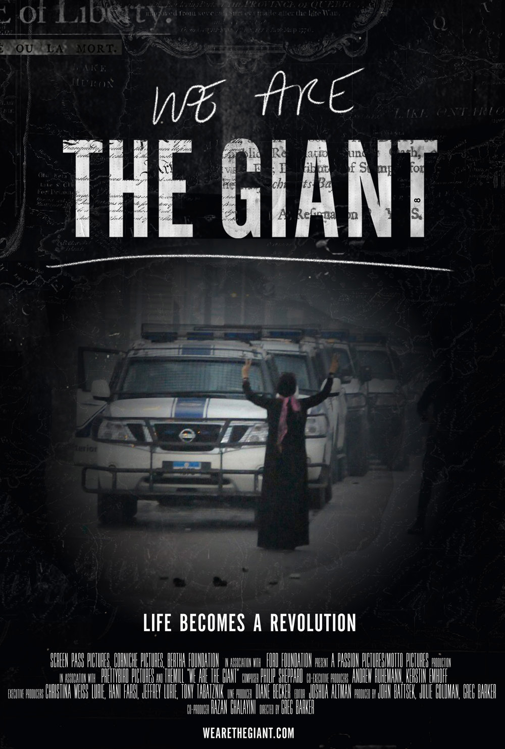 WE ARE THE GIANT   The revolutions in the Middle East.  Sundance Film Festival 2014 Madman Films Netflix, 2014