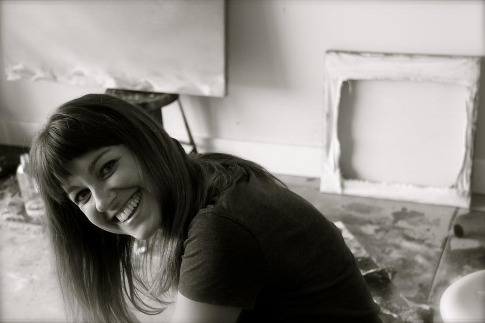 Image of Artist in studio