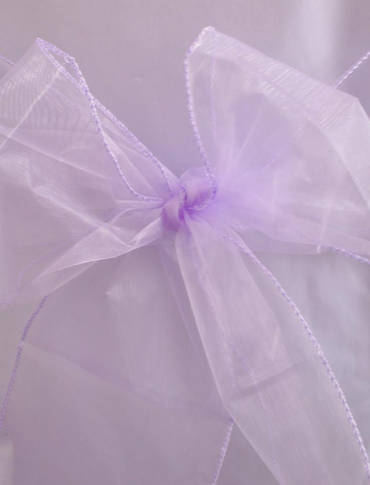 Lilac Organza