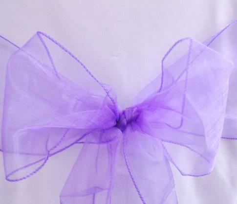 Purple Organza