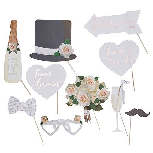 Classic Wedding Photo Booth Props
