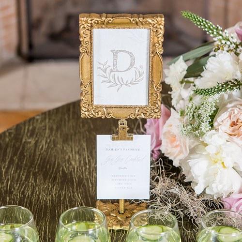 Square Ornate Gold Frame