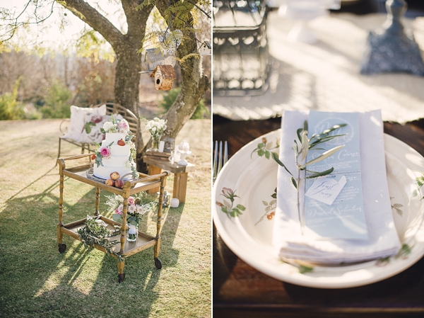 Cake / Decor / Styling: Vanilla Pod Designs  Photography: Ryan Parker Wedding Stationery: Pistachio Stationery