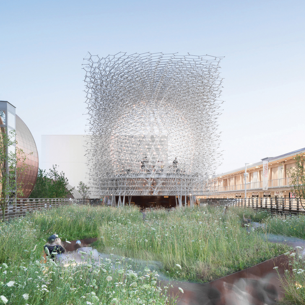 The Hive : UK pavilion Milan Expo 2015 (image Mark Hadden)