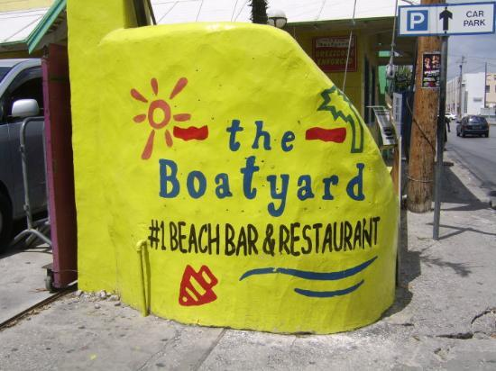 Boatyard Restaurant in Bridgetown