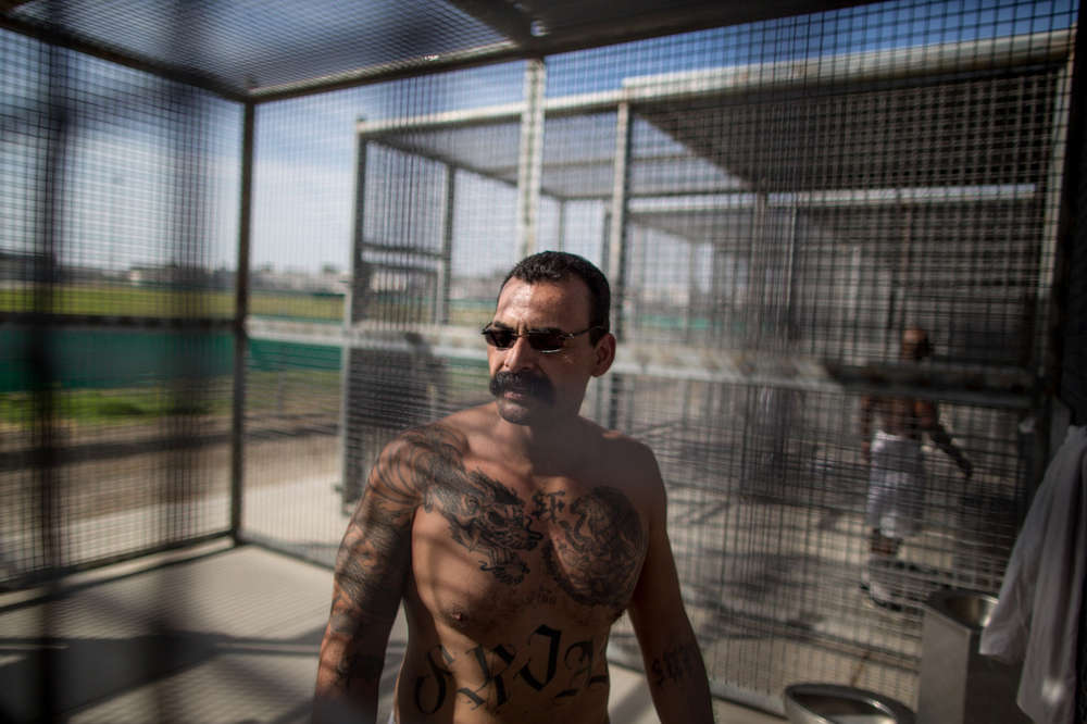 Edward Frias of the San Fernando Valley took part in a hunger strike in 2013 that compelled officials at Corcoran State Prison in California's Central Valley to open the doors of a Security Housing Unit to journalists for the first time.   Prisoners are isolated in SHUs for years with few opportunities to appeal. Frias has been inside isolation for eight years.