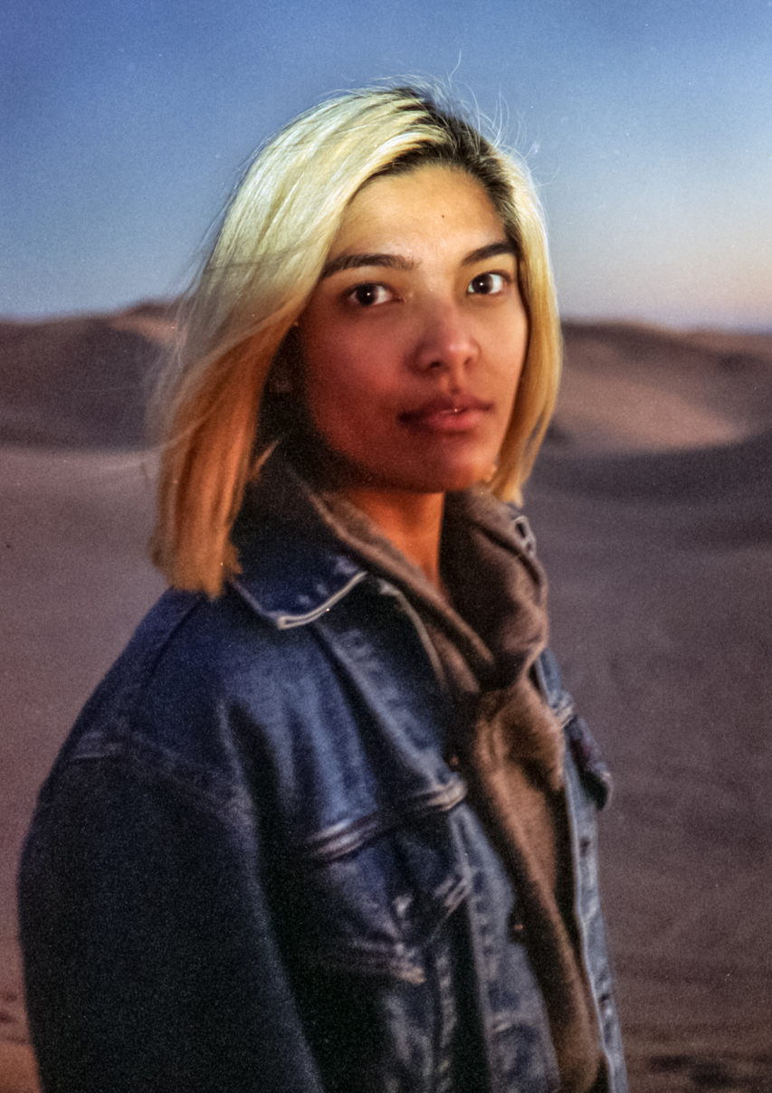 Gabbie Bautista at Imperial Dunes, Calif.