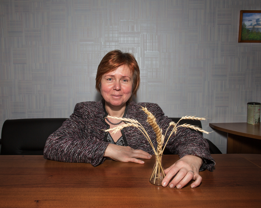 Elena Salina studies the genes of wheat. She has worked in the Academy of Sciences since just after the fall of the Soviet Union. She expressed concern about a federal takeover of the Russian Academy of Sciences last year, part of a larger trend of consolidation of power in Moscow.