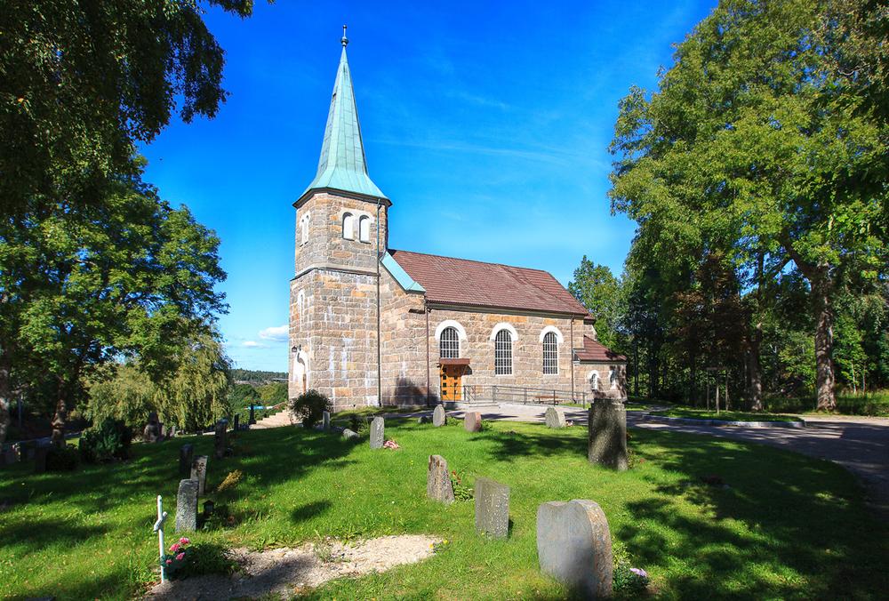 Spjærøy kapell - vakkert monument over stenhuggerperioden på Hvaler