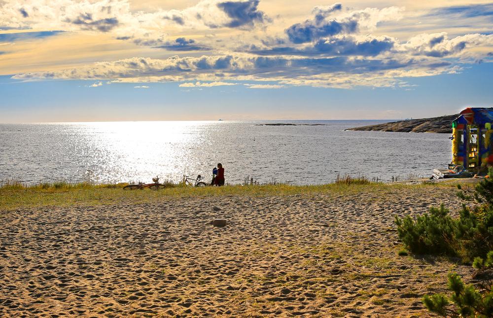 Himmel & Hav - alltid sterkt tilstede på Hvaler. Her fra fjorårets siste augustdag.