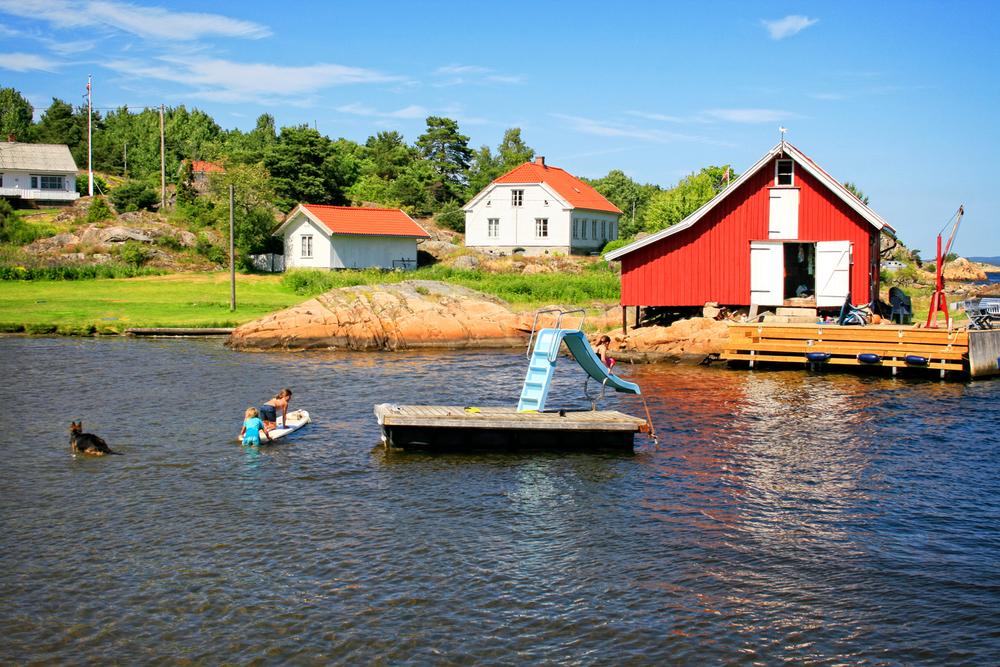 Sommerdag på Makø