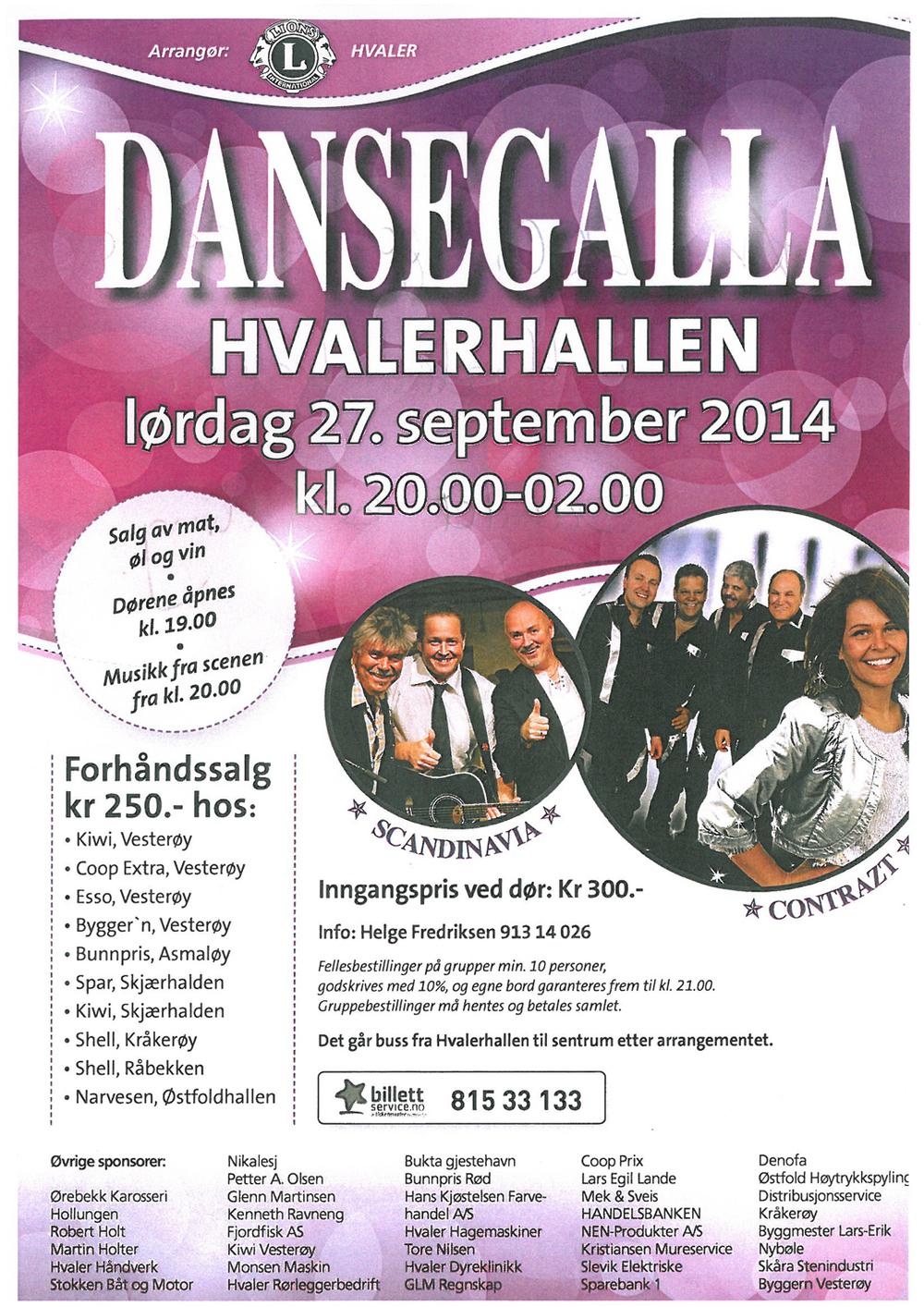 Dansegalla Hvaler
